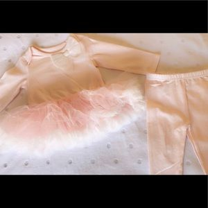 🛍NWT 2pc Baby Girl TuTu outfit